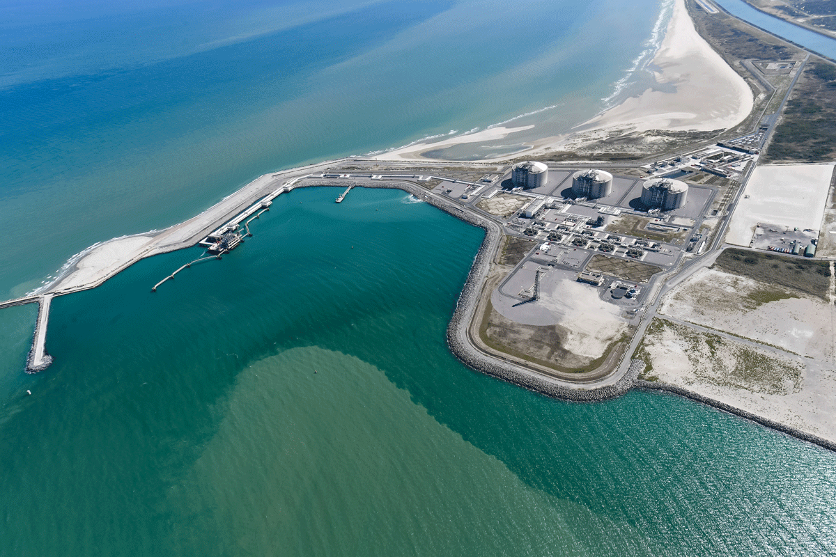 Dunkerque LNG site
