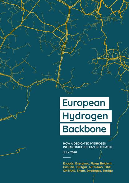 Cover of the European Hydrogen Backbone Plan